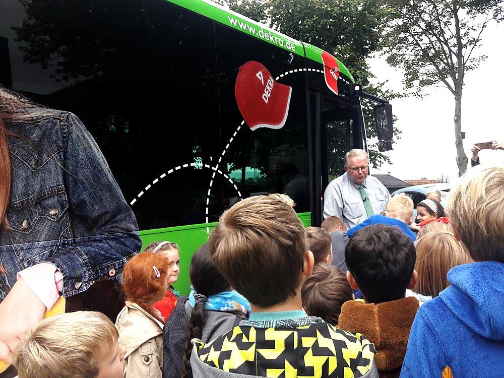 09.2019 – Richtig verhalten im Schulbus
