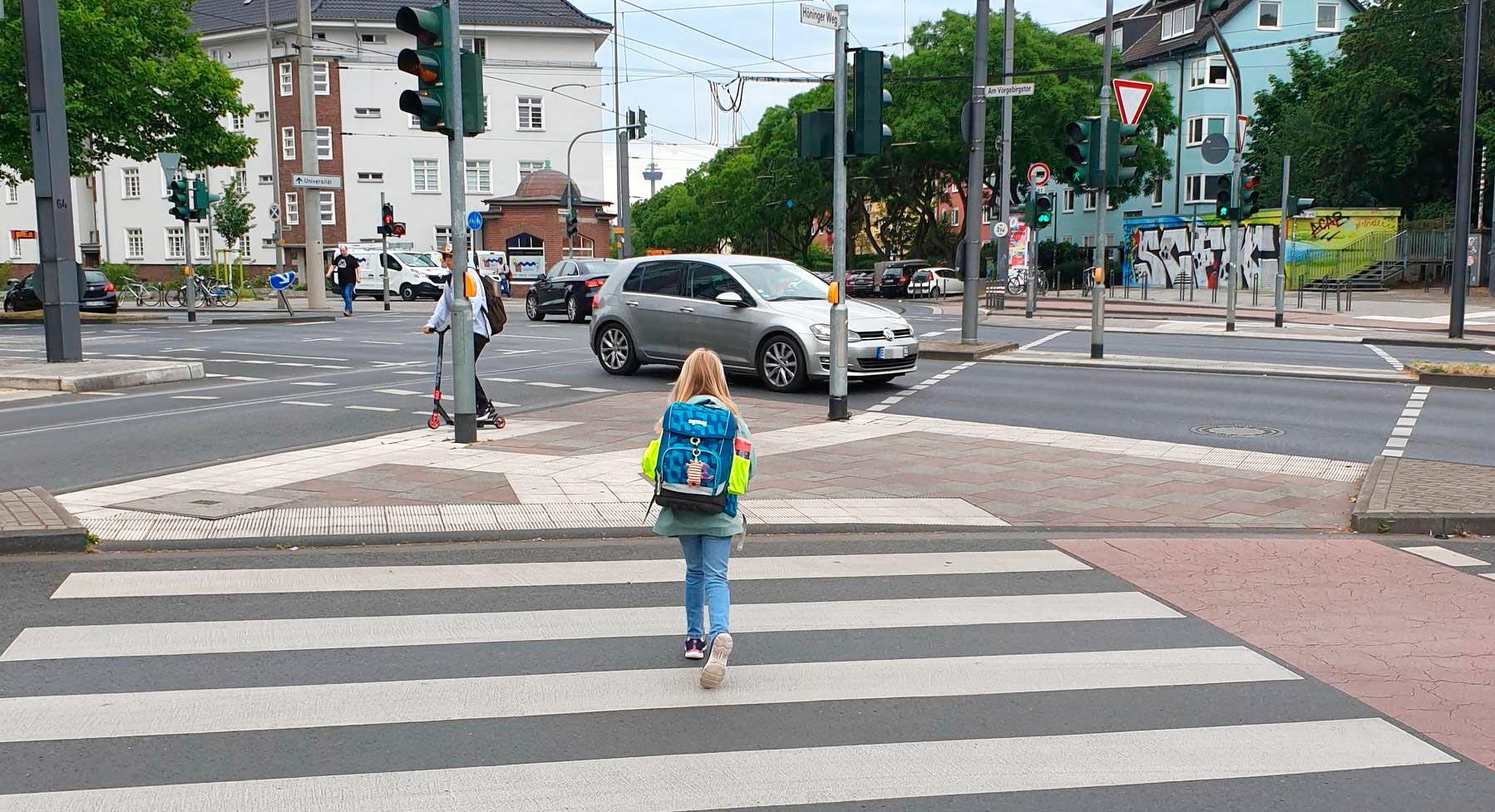 08.2020 – i-Dötzchen auf Schulweg vorbereiten