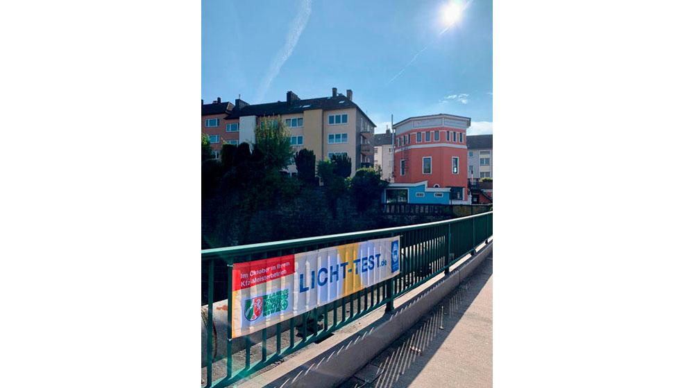 Lichttest 2020 - Verkehrswacht Wuppertal